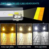 F25c H4 three color temperature intelligent dimming automobile LED headlamp