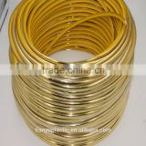 new hot product golden shiny Tshape plastic fixed decorative strip for backgroundwall and sliding door