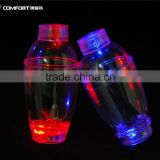 made in China high quality transparent cocktail shaker set