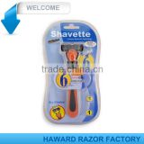 Factory supply six blade system razor
