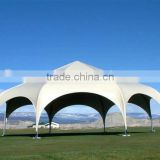 New style stong steel structure football stadium tent membrane structure for shopping malls