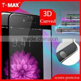 3D Curved full corning gorilla glass tempered glas for iphone 6 screen protector tempered glass