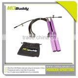 Adjustable crossfit speed jump rope aluminium