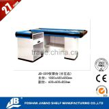 made in foshan supermarket cash counter used retail counters sale JB-059