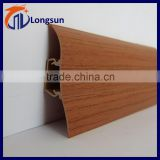 2015 hot sale pvc sanitary baseboard at a cheap price