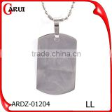 Stainless Steel Jewelry Main Material Costume Tag Pendant