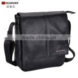 2014 new fashion style brand waterproof durable leather satchel backpack