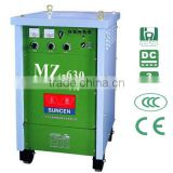 MZ-630 SCR automatic submerged arc welding machine 630 Amp SAW DC motor heavy duty