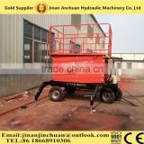 4-16m 300-1000kgs electric motor lift drive / actuation and scissori lift mechanism electric scissor lift tables