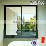 Sound proof opaque window glass