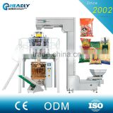 automatic rice/nuts/grain/seed/granule weigh filling packaging machine