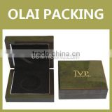 superior wooden coin case,wooden coin box