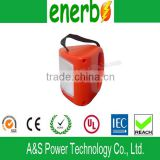 ABS Lamp Body Material and VDE,CE,UL,CCC Certification solar lantern with mobile phone charger