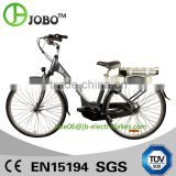 700C Aluminum Alloy City Elektric Bike 36V 10Ah Elektric Bicycle Mid Drive Motor Rear Rack Battery