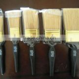 Chinese bristle paint brush with plastic handle