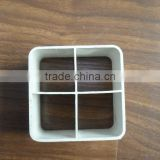 White Rigid PVC Extrusion Profile for pipe PJA213 (we can make according to customers' sample or drawing)
