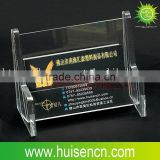 Acrylic business card holder,name car holder