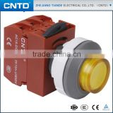 CNTD Goods for Export Convex Head with Lamp 30mm Diameter illuminated Push Button Switches(C3PIH)