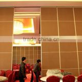 china manufacturer aluminum movable partition and movable sound proof partition wall for restaurant