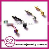 D155 China making eyebrow ring italian costume jewelry