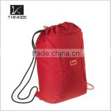 drawstring bag wholesale china supplier thinkee drawstring bag custom design your logo light polyester drawstring bag