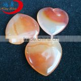 heart shaped gemstone beads Factory price agate heart shape jewelry beads for necklace/pendant