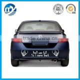 Custom printed vinyl car sticker / adhesive car window decal                                                                         Quality Choice