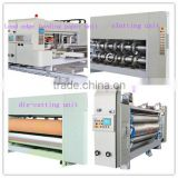 New arrival automatic corrugated carton flexo ink printing machine with slotter die-cutter