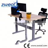 desk with fans and and 3-hub usb factory wholesale