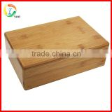 Wholesale Durable Natural Bamboo Yoga Block                                                                         Quality Choice