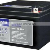 GB12-24 12v24ah lead acid battery 12v 24ah manufacturer 12v battery 24a sealed maintenance free lead acid battery 12v 24ah