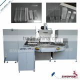 8KW round table PVC packaging box folding machine