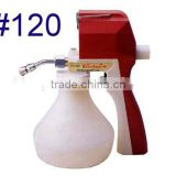 Platic Spray Textile Cleaning Gun for cleaning dirt out of knitting clothes suits and machinery