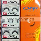 new 3D hand made synthetic strip false eyelashes extension #ONXY