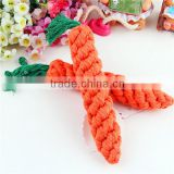 Best Price Hot Sale New Pet Puppy Chew Play Toy Straw Carrot for Hamster Chew Pet Supplies