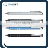 ballpoint metal pen promotion metal branded new design stylus pen metal pen with laser logo