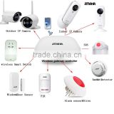IOS&Android APP intelligent monitor smart home security system for good home care IP camera optional