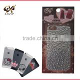 cell phone jewel stickers/rhinestone crystal stickers for phone/self adhesive pearls and rhinestone stickers