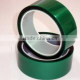 high quality green tapes/ green adhesive tapes /pet green tapes adhesive/ green pet tapes