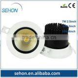hight quality products china wholesale alibaba dimmable 3inch 10W COB led down ligths led lamp housing