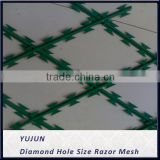 PVC galvanized Razor barbed wire Bracket