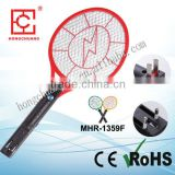 MHR-1359F rechargeable Nickel-cadmium battery electric fly swatter racket killer argos mosquito bat