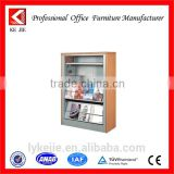 poster display with brochure holder double side poster stand wood stand with arcylic pocket