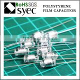 Factory Brand Axial Lead 51pF 50V Polystyrene Film Capacitor
