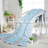 Elegant 100% cotton summer thin quilt