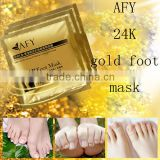 Safe foot skin care exfoliating peeling hydrating brighten foot mask