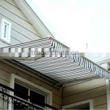 DELUXE HALF CASSETTE RETRACTABLE AWNING