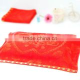 Luxury Double Red Rose mood terry jacquard towel Rose towel wholesale factory direct high-grade