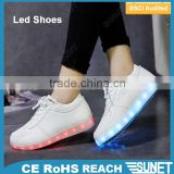 2016hot sale light fashion high top night runner led shoes