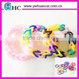 2014 Creative Rubber Loom Bands,DIY bracelet silicone loop loom bands,Crazy loom bands wholesale,loom bands sets